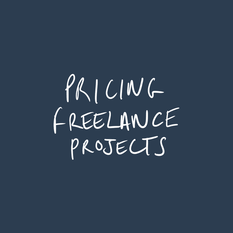 Pricing Freelance Projects